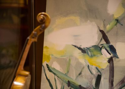 Mirja Ilkka art and violin